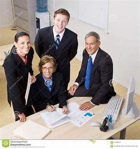 Business People Working Together Stock Image - Image: 17058075