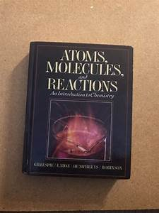 Chemistry For Atom  Molecule And Reaction  1994  Hardcover