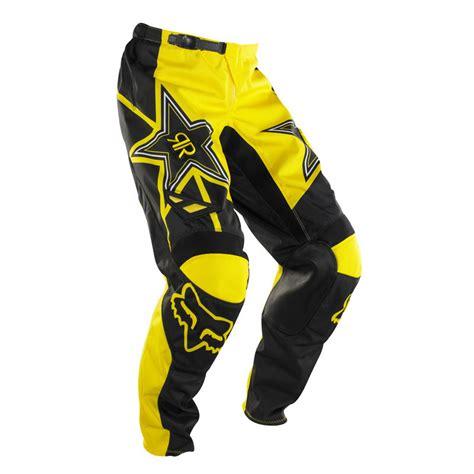 motocross jerseys and pants fox 180 rockstar pant jerseys pants motocross black