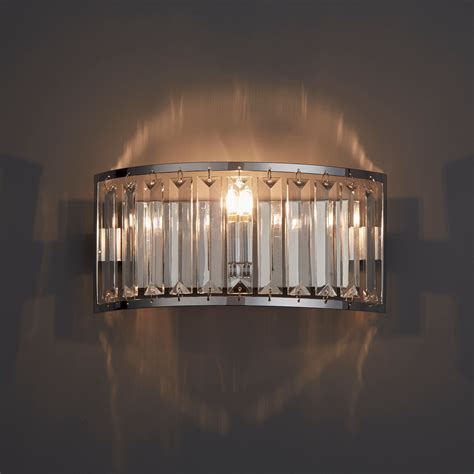 dione chrome effect single wall light departments diy