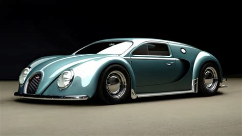 This Is A Bugatti Veyron... From 1945