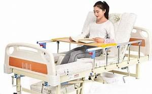 China Adjustable Nursing 2 Crank Manual Medical Hospital