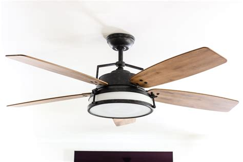 farmhouse style ceiling fans with lights living room update ceiling fan swap bless 39 er house