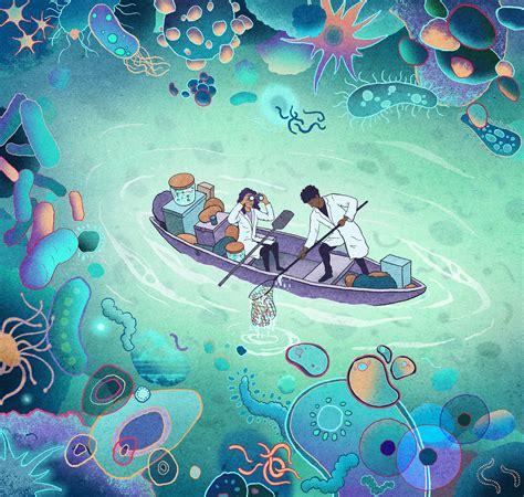 Antoine Doré : The Gut Microbiome - World illustration Awards
