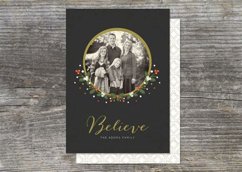 image  winter berries holiday card brightside prints