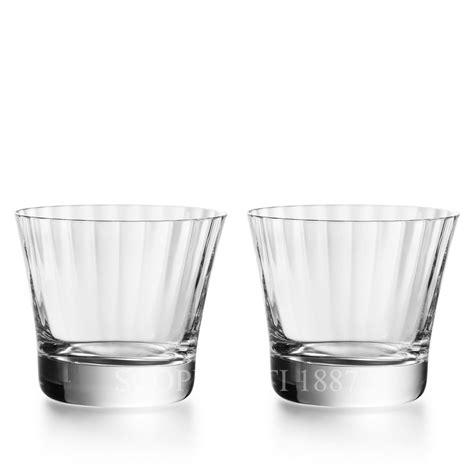 bicchieri di baccarat set 2 bicchieri tumbler mille nuits in cristallo baccarat