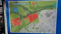 Map of Casa de Campo - Picture of Teleferico, Madrid ...