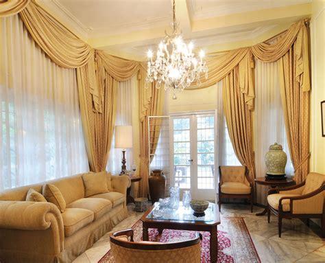Elegant Curtain Living Room
