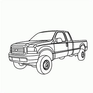 ford f250 coloring pages coloring pages With 1995 ford f 250 sel