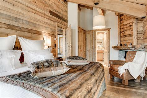 chambre deco bois visite déco la sivolière un écrin de luxe décontracté