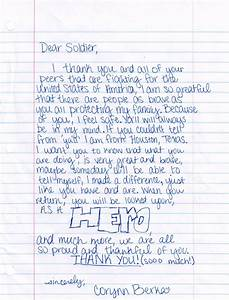 Home help our military endure letters to our soldiers for Letter writing to the troops