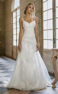 A Line Wedding Dress With Lace Straps Naf Dresses