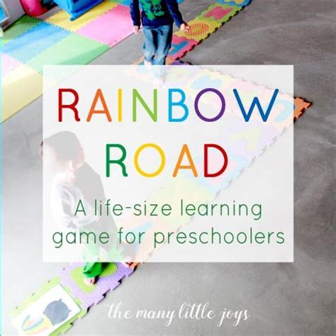 the rainbow road a sized learning for 508 | rainbow road 2 square