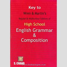 Key To High School English Grammar & Composition  Books For You