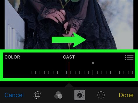 photo color app how to adjust the color cast of a photo using the iphone