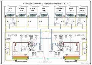 Refrigeration Provision Piping Diagram  1