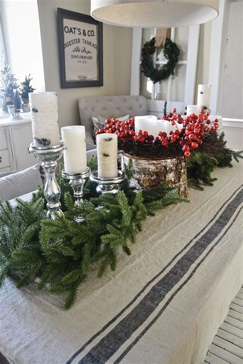 christmas centerpieces for dining room table 1000 ideas about dining rooms on living rooms deck the halls