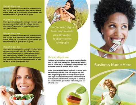 Health Brochure Templates 17 best images about brochure design on retro
