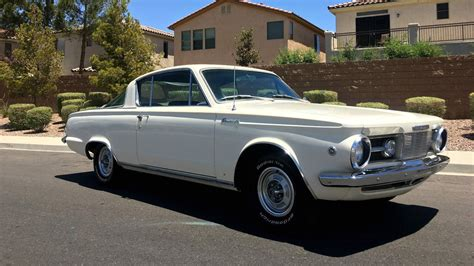 well documented 1965 plymouth barracuda