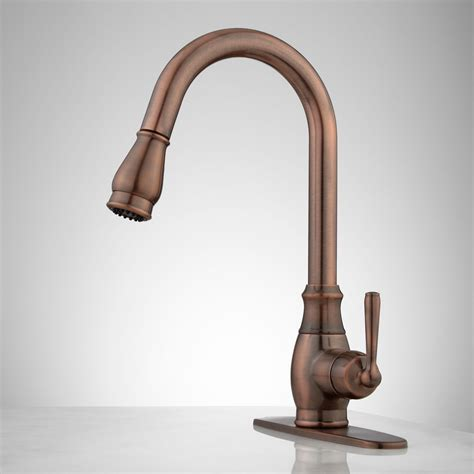 Pull Faucets Kitchen by Hahn Pull Kitchen Faucet With Deck Plate Kitchen