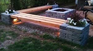 Feuerstelle aus steinen bauen 50 coole garten ideen fr for Feuerstelle garten mit bonsai schale rund