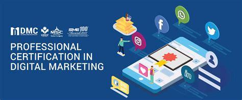 certified digital marketing course dmpc dmc