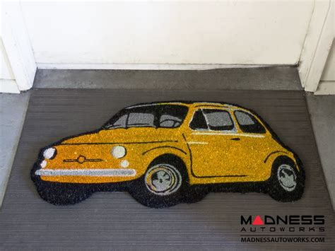 Classic Fiat 500 Parts by Classic Fiat 500 Doormat Yellow Fiat 500 Parts And