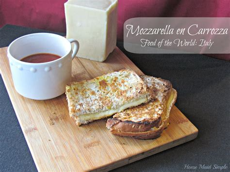 mozzarella en carrozza mozzarella en carrozza a visit to italy home simple