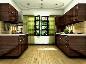 Teak Wood Wooden Kitchen Cabinets Kerala Cochin Belinda