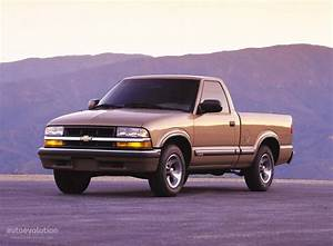 Chevrolet S-10 Regular Cab Specs - 1997  1998  1999  2000  2001  2002  2003