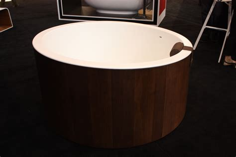 wooden sinks and bathtubs a modern take on an old concept freestanding bathtubs