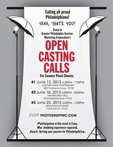 Open Casting Calls For Philadelphia Tourism Photo Shoots