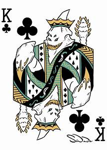 Sand King Of Clubs Dota 2 Playing Card Art By Swadeart