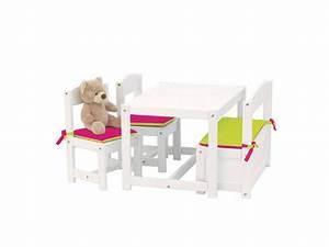 Stuhl Für Kinderzimmer : hoppekids kinder sitzgruppe wei 1 bank 2 st hle und 1 tisch 4 teilig hoppekids ~ Sanjose-hotels-ca.com Haus und Dekorationen