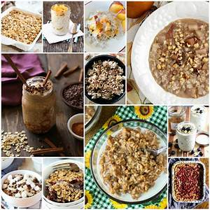40 Oatmeal Recipes for National Oatmeal Month by The ...