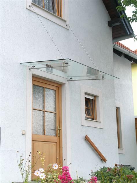 vordach glas edelstahl vordach vord 228 cher edelstahl glas seitenteil
