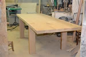 faire une table en bois massif