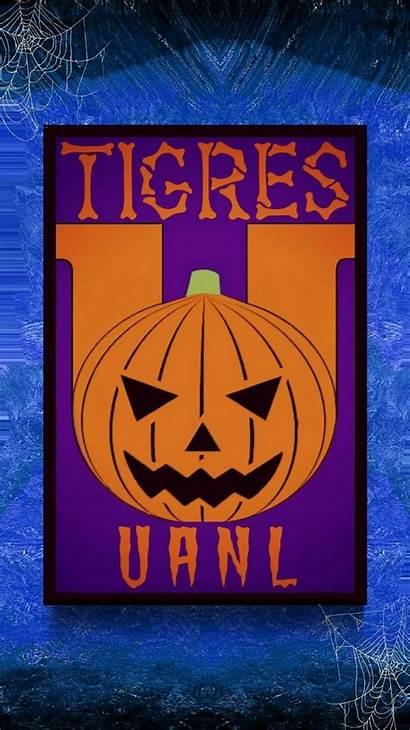 Tigres Uanl Hallowen Fiesta Escudo Latina