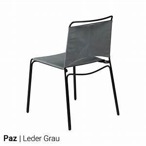 Stuhl Leder Grau : stuhl leder grau entdecke unser sortiment an esszimmer und kchensthlen wir haben fr jeden tisch ~ Indierocktalk.com Haus und Dekorationen