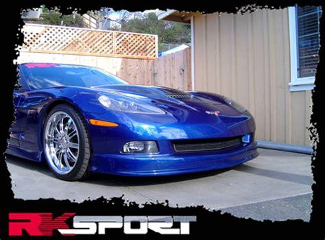 rksport chevrolet corvette  ram air hood  carbon fiber