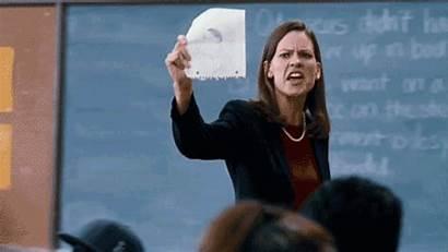 Teachers History Never Gruwell Erin Take Teacher