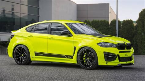 Modified Bmw X6m by This Is The Retina Searing Lumma Design X6m Top Gear