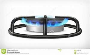 Kitchen Gas Stove Stock Vector - Image: 57001129