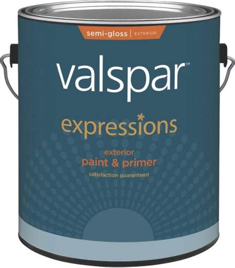 valspar 17164 expressions exterior latex paint semi gloss