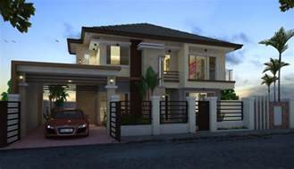 residential home design proposed two storey residential house home design