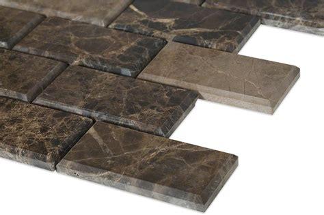 2 x 8 beveled subway tile emperador beveled 2x4 marble tile tilebar