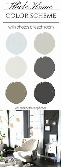 painting color schemes My Interior Paint Colors | snazzy little things