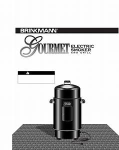 Brinkmann Smoker Electric Smoker User Guide