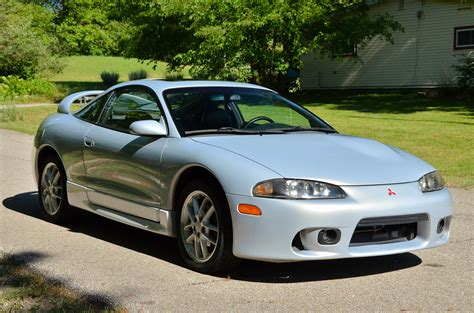 Mitsubishi Eclipse Gsx 1999 mitsubishi eclipse gsx awd 5 speed for sale on bat