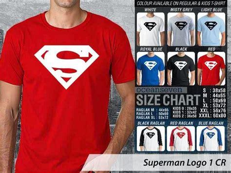 Kaos Despicable Me Logo 2 Cr 1shmaz048 kaos superman logo 1 cr kaos